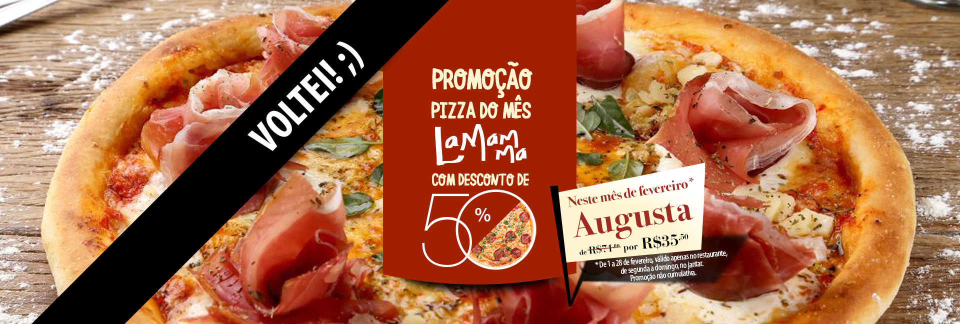 Pizza do Mês