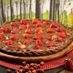 Redonda Inusitada: Pizza Doce com Massa de Cacau Belga